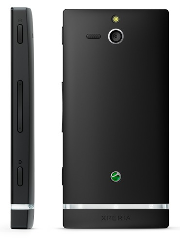 Sony Xperia U Android Smartphone back side