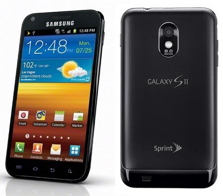 Sprint Samsung Epic 4G Touch Smartphone Vortex Black