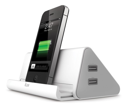 iLuv DreamTraveler iAD301 Portable Power Strip and Charger