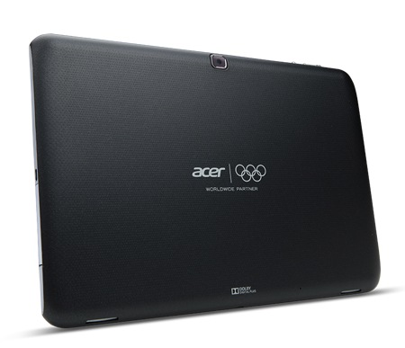 Acer Iconia Tab A510 Quad-core Android 4.0 Tablet black back