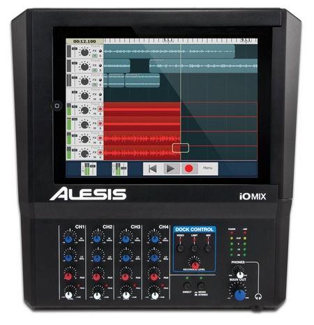 Alesis iO Mix 4-Channel Mixer Recorder for iPad top