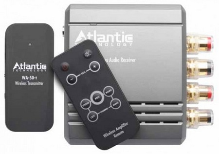 Atlantic Technology WA-5030 Wireless Audio Transmitter Amplifier System