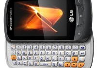Boost Mobile LG Rumor Reflex QWERTY Messaging Phone
