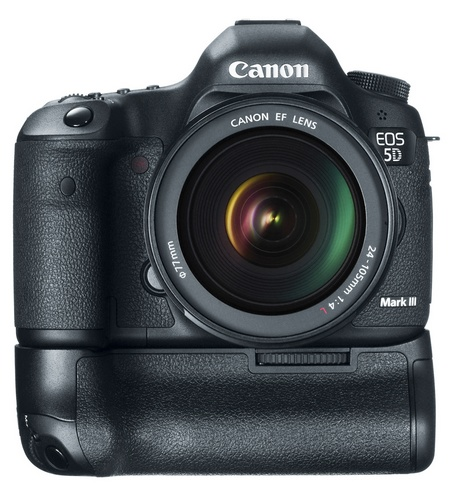 Canon BG-E11 Battery Grip with EOS 5D Mark III