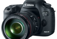 Canon EOS 5D Mark III Digital SLR Camera angle