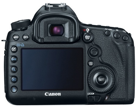 Canon EOS 5D Mark III Digital SLR Camera back