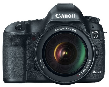 Canon EOS 5D Mark III Digital SLR Camera front