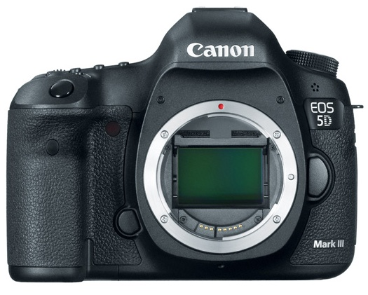 Canon EOS 5D Mark III Digital SLR Camera no lens