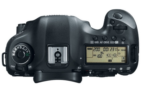 Canon EOS 5D Mark III Digital SLR Camera top