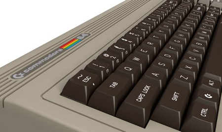 Commodore C64x Keyboard PC keyboard