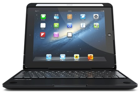 CruxCase Crux360 Keyboard Case for iPad 3 laptop mode