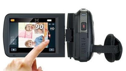 Genius G-Shot HD575T Full HD Camcorder touchscreen