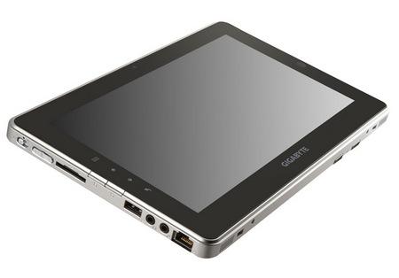 Gigabyte S1081 Slate PC powered by Cedar Trail 1