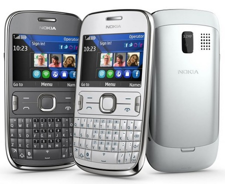 Nokia Asha 302 S40 Mobile Phone