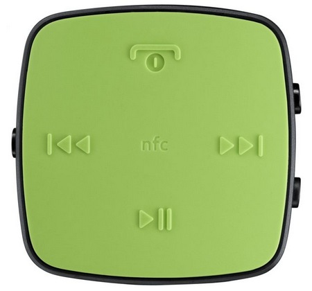 Nokia BH-221 Bluetooth Stereo Headset green