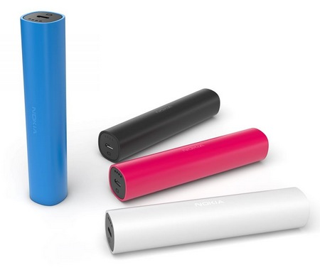 Nokia DC-16 Universal Portable USB Charger colors