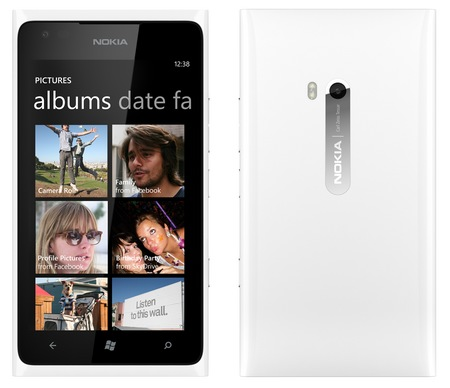 Nokia Lumia 900 Windows Phone white 1