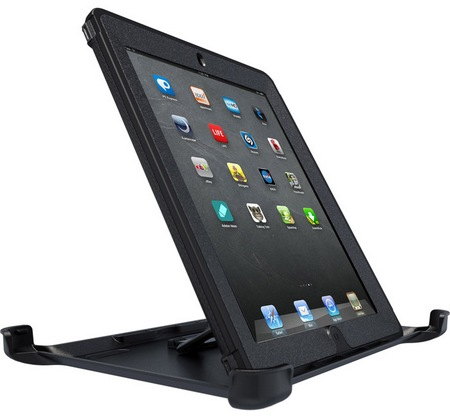 OtterBox Defender Series iProtection Case for new iPad portait stand