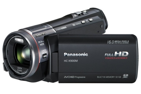 Panasonic HC-X900M Full HD Camcorder with 3MOS System Pro and Leica Lens