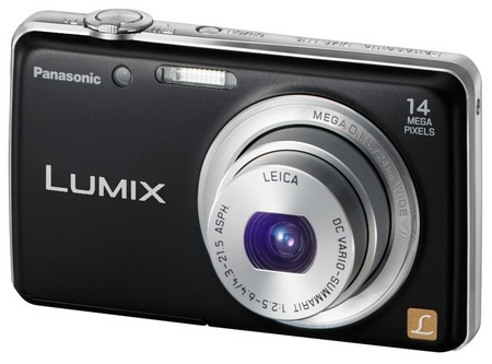 Panasonic LUMIX DMC-FH6 slim digital camera