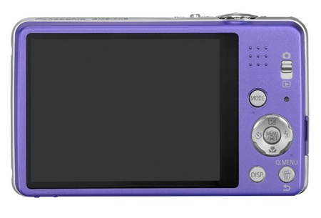 Panasonic LUMIX DMC-FH8 slim digital camera back