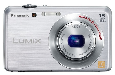 Panasonic LUMIX DMC-FH8 slim digital camera silver