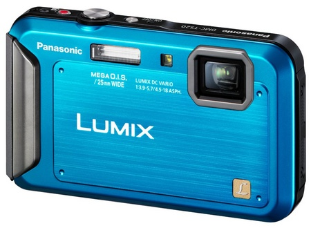 Panasonic LUMIX DMC-TS20 Entry-level Rugged Camera blue