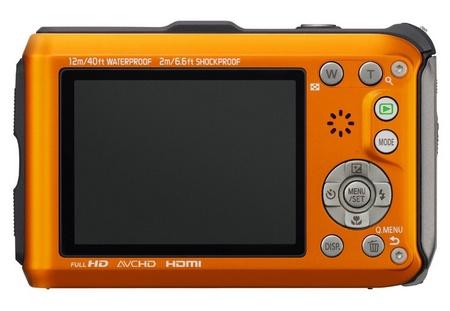 Panasonic LUMIX DMC-TS4 Rugged Camera with GPS back
