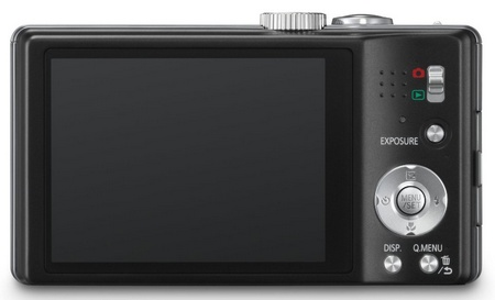 Panasonic LUMIX DMC-ZS15 16x Zoom Camera back