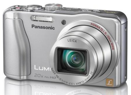 Panasonic LUMIX DMC-ZS20 20x Zoom Camera angle silver