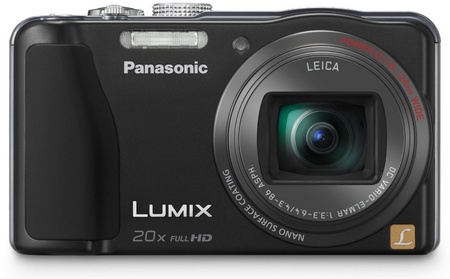 Panasonic LUMIX DMC-ZS20 20x Zoom Camera front
