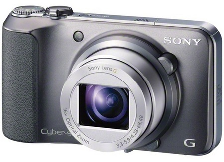 Sony Cyber-shot DSC-H90 16x Zoom Camera silver