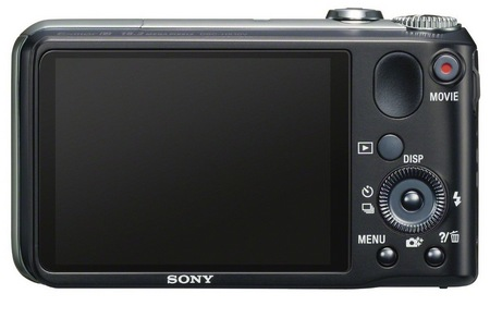 Sony Cyber-shot DSC-HX10V 16x optical zoom camera back