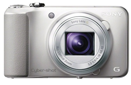 Sony Cyber-shot DSC-HX10V 16x optical zoom camera silver