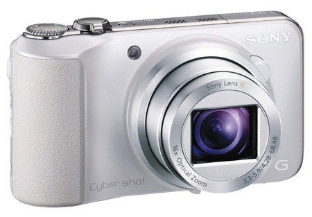 Sony Cyber-shot DSC-HX10V 16x optical zoom camera white