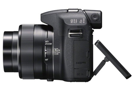 Sony Cyber-shot DSC-HX200V 30X Long Zoom Camera with GPS side