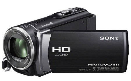 Sony Handycam HDR-CX210 Entry-level Camcorder