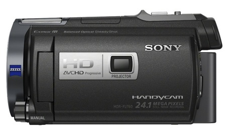 Sony Handycam HDR-PJ710V Camcorder with built-in Projector