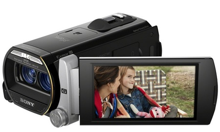 Sony Handycam HDR-TD20V Double Full HD 3D Camcorder 2