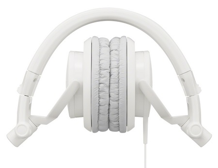 Sony MDR-V55 headphones white fold