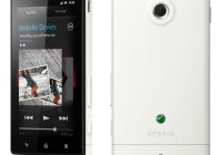 Sony Xperia sola Smartphone with Floating Touch white