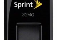 Sprint 3G 4G Plug-in-Connect USB Modem