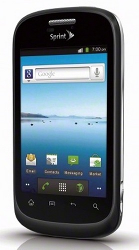 Sprint ZTE Fury Budget-friendly Android Phone