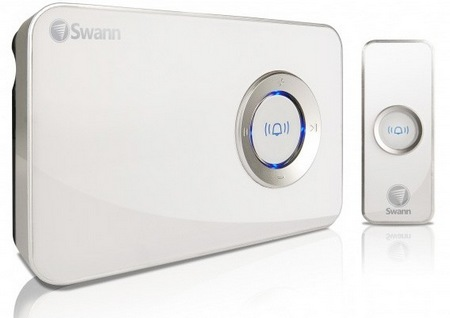 Swann MP3 DJ Doorbell Wireless Music Doorbell