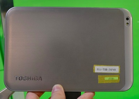 Toshiba AT270 Tegra 3 Quad-core Tablet back