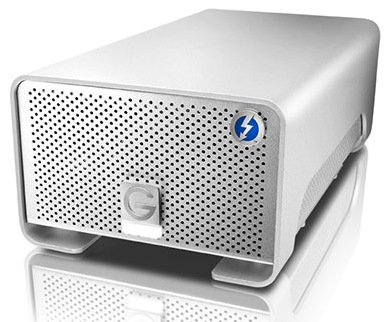 G-Technology G-Raid with Thunderbolt Dual-drive Storage Device