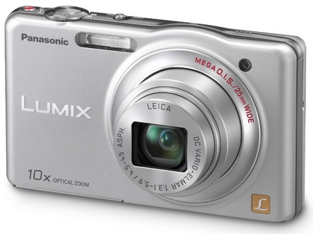 Panasonic LUMIX DMC-SZ1 10x zoom slim camera silver