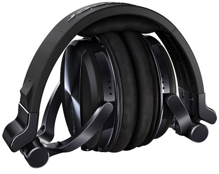 Pioneer HDJ-1500 Professional DJ Headphones folded