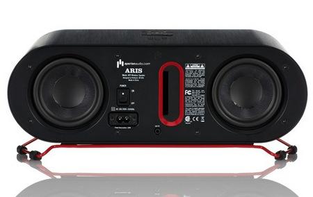 Aperion ARIS Wireless Speaker for Windows back