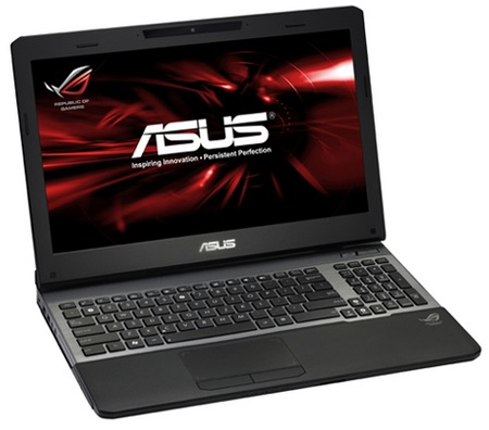 Asus ROG G55VW Gaming Notebook with Ivy Bridge
